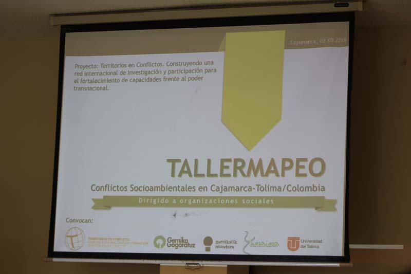 taller mapeo Cajamarca