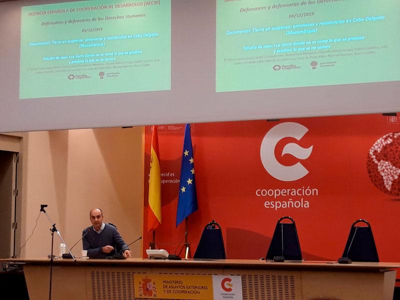 """Documentales del proyecto """"Territorios en Conflicto"""" se proyectan en la sede de la AECID en Madrid"""