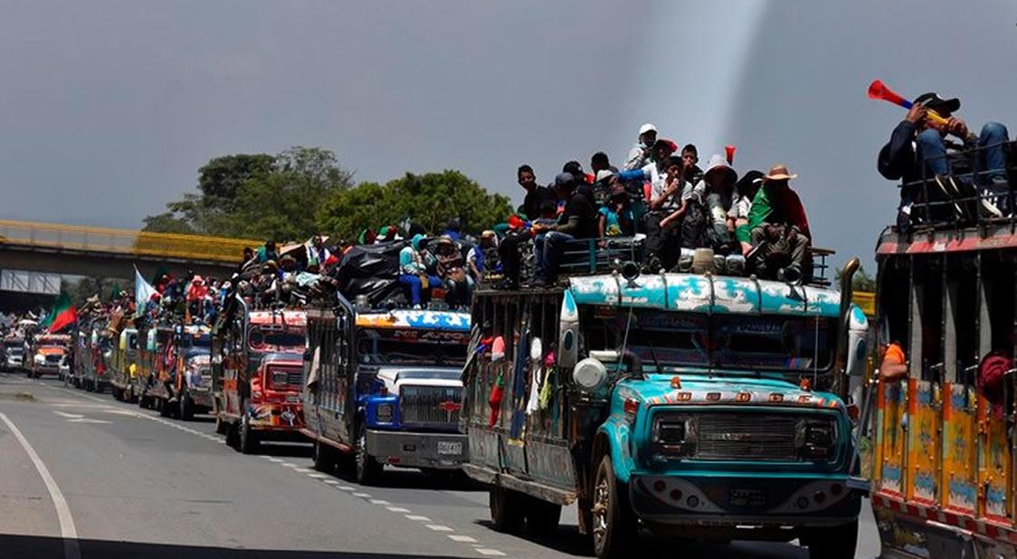 territorios en Conflicto: Movilización Minga
