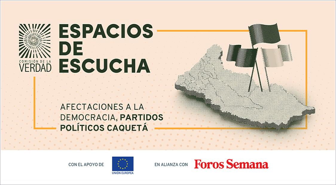 Espacios de Escucha Comisión de la Verdad Colombia