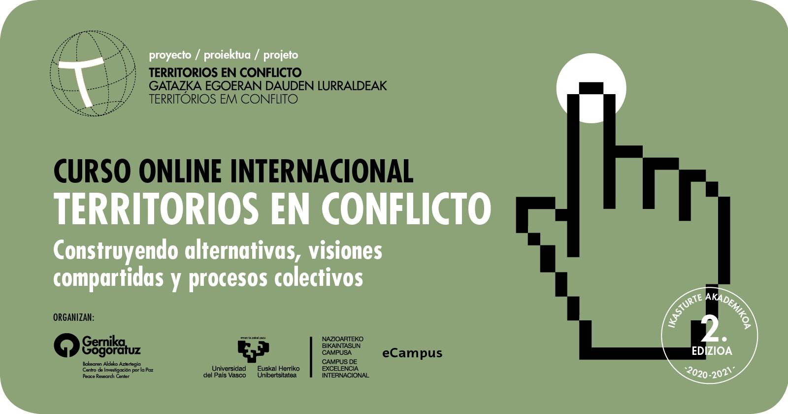Curso online Territorios en Conflicto