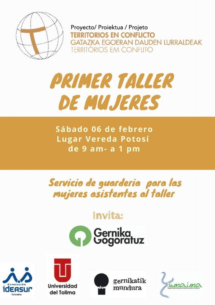Primer taller de mujeres de Cajamarca